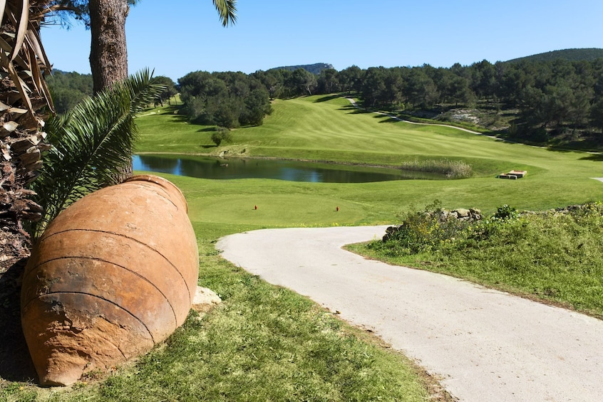 Show item 2 of 10. Golf de Ibiza - Green Fee 18-hole Course - Golf Ibiza