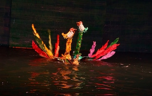 Water Puppet Show at Lotus Theatre Hanoi