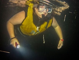 Nocturnal Snorkel from Cancun