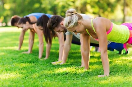 Fitness Bootcamp in Oberstdorf - 50 Minuten Training