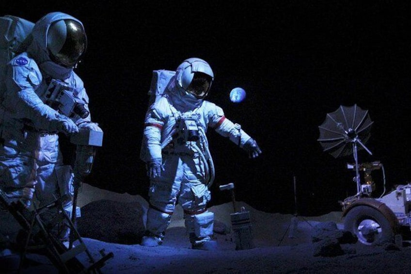 Show item 4 of 4. NASA Tour, Space Center Houston
