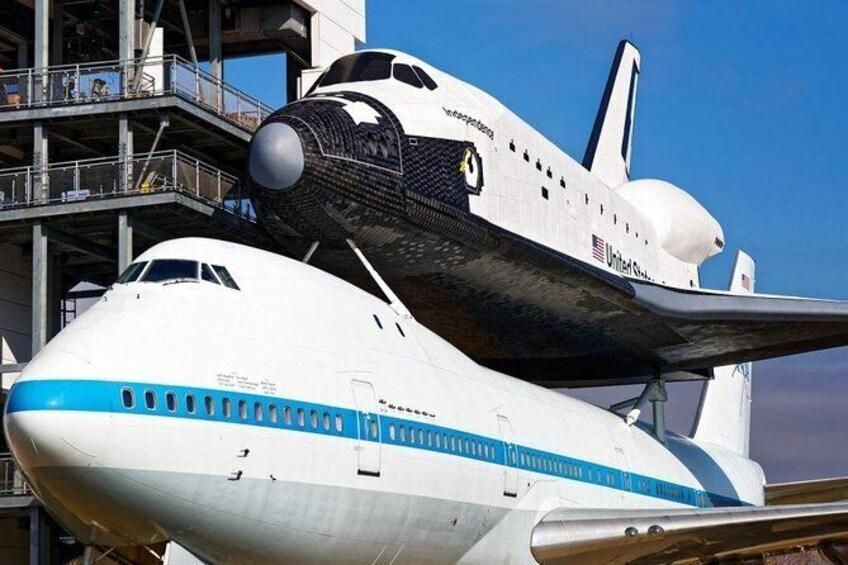 Show item 1 of 4. NASA Tour, Space Center Houston