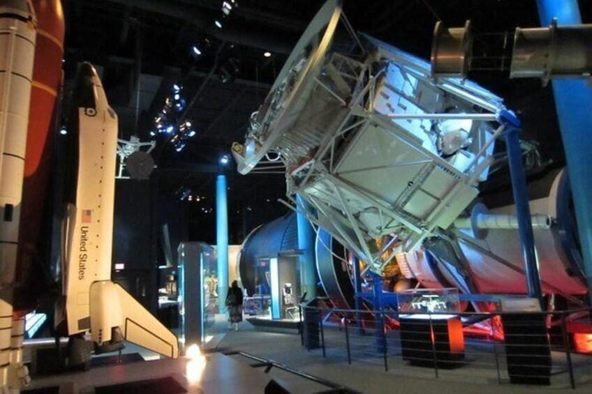 Show item 3 of 4. NASA Tour, Space Center Houston