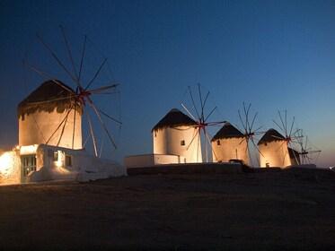 Mykonos WIndmills Night.jpg