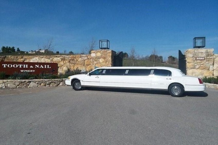 Show item 1 of 5. Eastside Paso Robles Limousine Wine Tour
