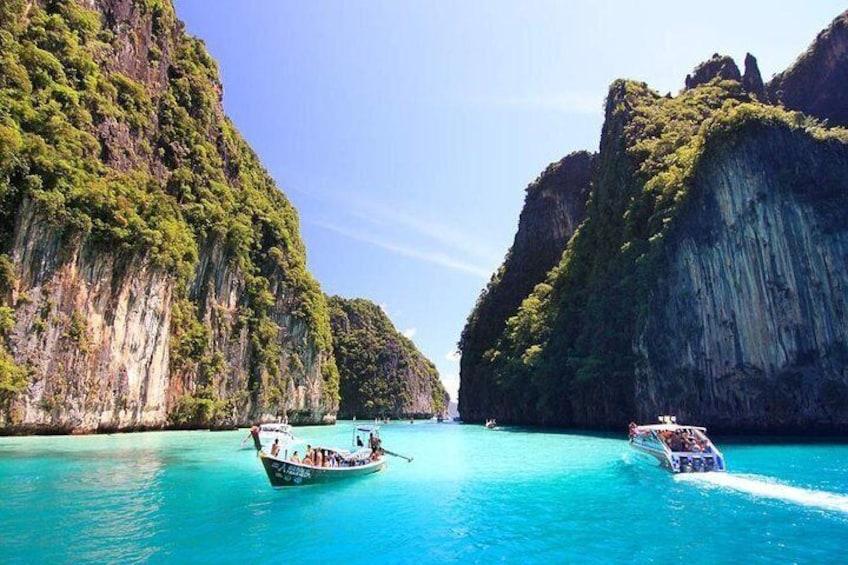 Phi Phi & Khai Island by Speed Boat