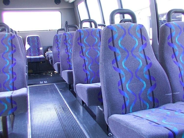 Show item 1 of 6. Starline minibus interior
