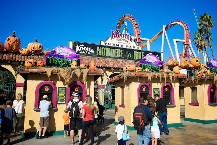 Show item 5 of 6. Round Trip Transfer to Knott's Berry Farm with hotel pickup