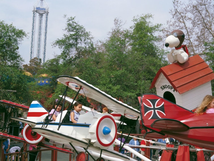 Show item 2 of 6. Red Baron at Knott's Berry Farm