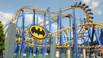 Admission + Transportation to Six Flags Amusement Park