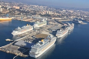 Transfer from the Port of Marseille to Cassis