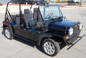 MOKE Electric Car Rentals 4 passengers