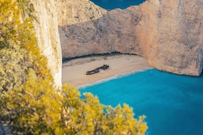 Tour to the Shipwreck Beach in Zakynthos