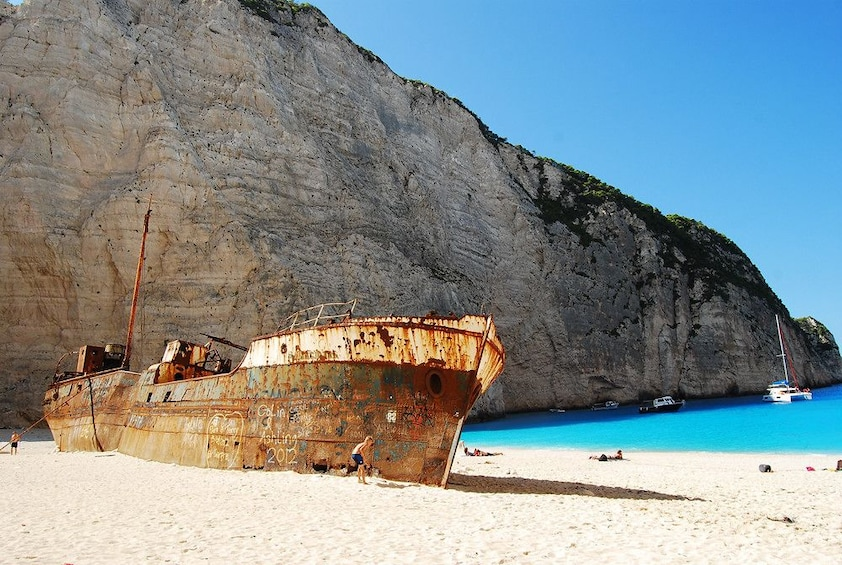 Show item 2 of 6. Tour to the Shipwreck Beach in Zakynthos