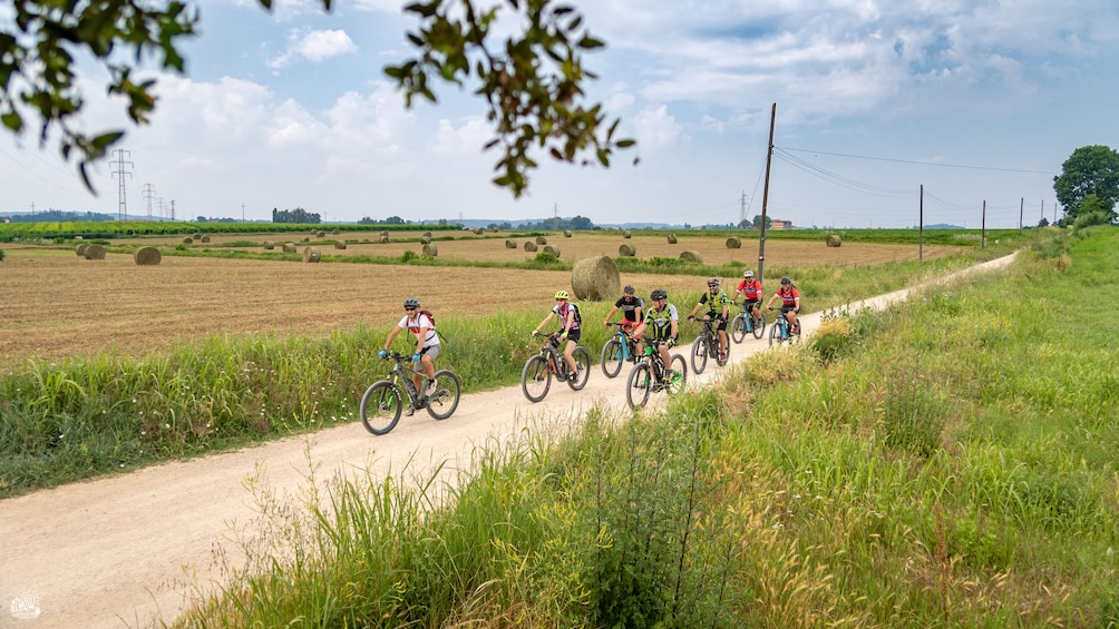Show item 3 of 7. The lands of Custoza - Garda bike ride for all people
