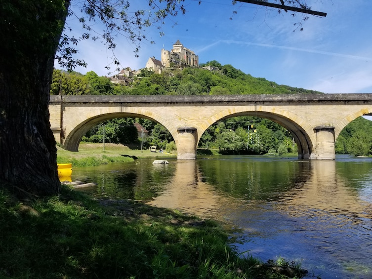 Show item 7 of 7. Dordogne valley in canoe