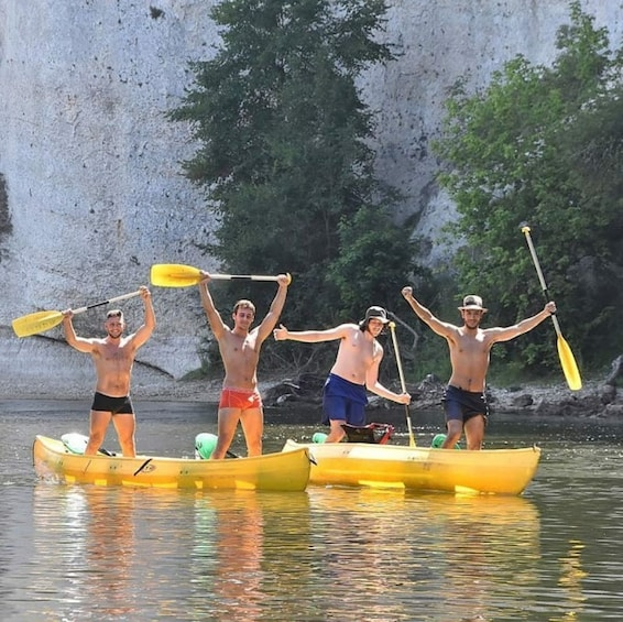 Show item 2 of 7. Dordogne valley in canoe