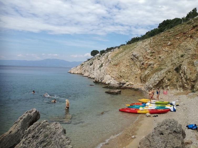 Show item 4 of 5. Krk bridge sea kayaking tour