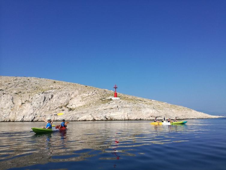 Show item 2 of 5. Krk bridge sea kayaking tour