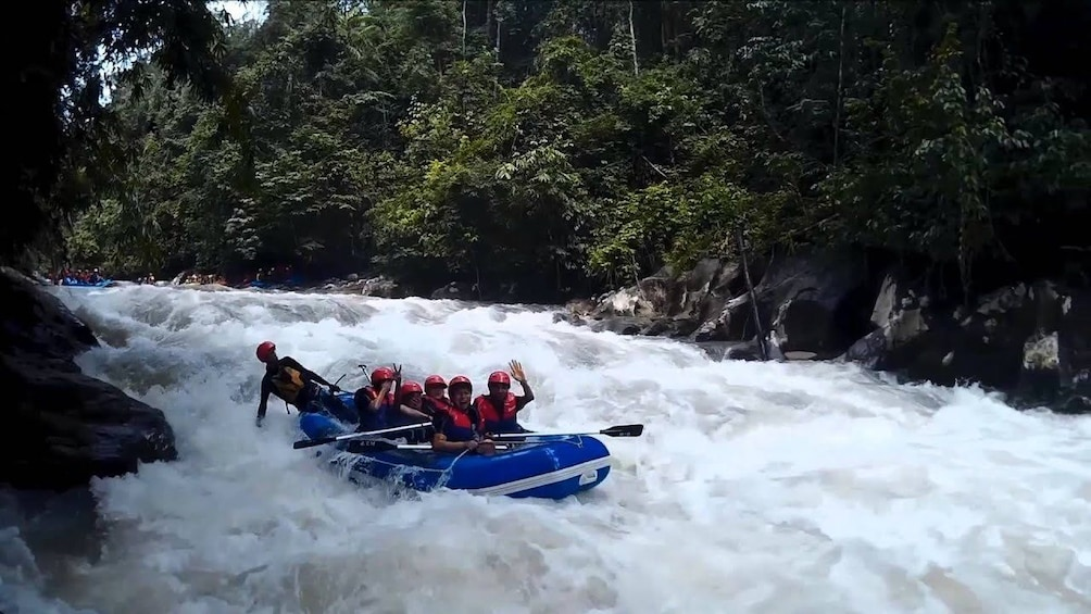 Show item 3 of 10. Kampar River White Water Rafting Adventure from Kuala Lumpur