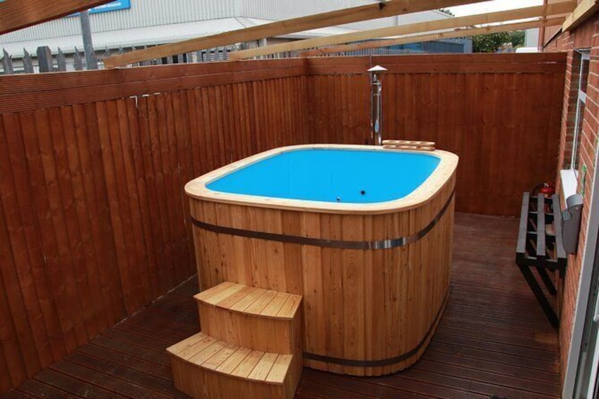 Show item 3 of 8. Our brand new hot tub
