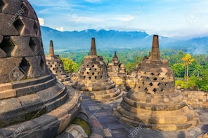 Yogyakarta 3 Temple Borobudur, Mendut, Prambanan Join Tour