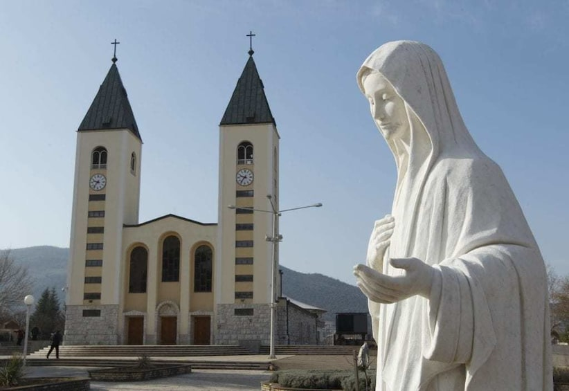 Show item 1 of 1. Medjugorje Private Tour from Sibenik