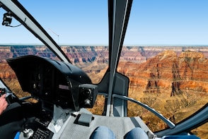 Grand Canyon West Rim Luxury Bus Tour + Helicopter Ride