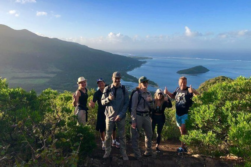 Show item 1 of 10. Hiking and Climbing UNESCO Le Morne Brabant