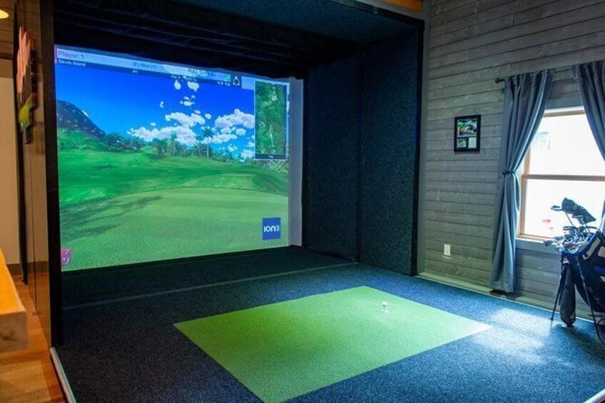 Show item 3 of 5. Indoor Golf Simulator