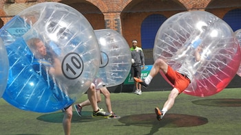 Bubble Football Experience in Liverpool