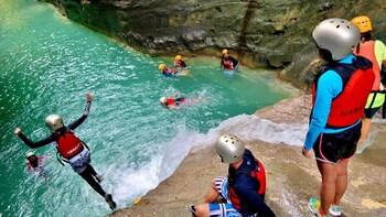 Canyoneering + Pescador Island Tour
