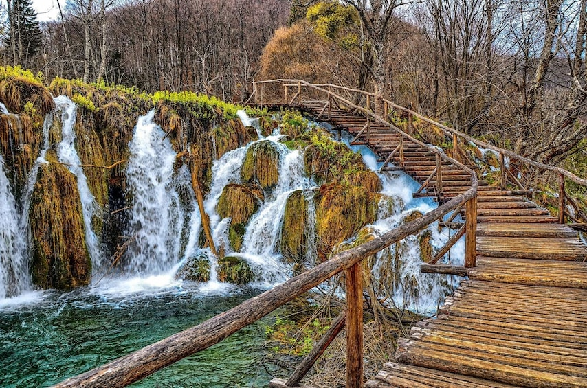 Show item 2 of 7. Private Day Trip to Plitvice Lakes and Rastoke Village