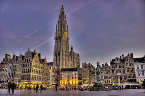 Antwerp by Night Private Tour