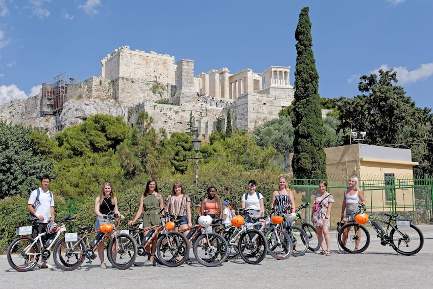 Show item 1 of 10. Athens Electric Bike Guided Tour
