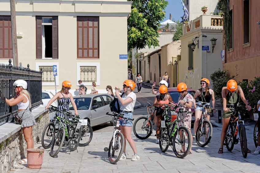 Show item 2 of 10. Athens Electric Bike Guided Tour