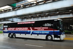 Airport Supersaver to O'Hare and Midway