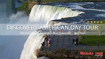 Discovery American Side Niagara Falls Tour And Boat Ride