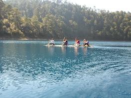 Chiflon Waterfall and Montebello Lakes