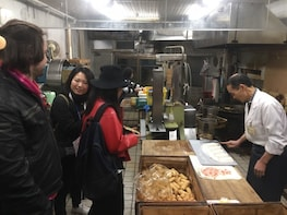 Kanazawa local market food tour with friendly guide