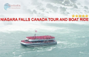 Niagara Falls Canada Tour And Boat Ride