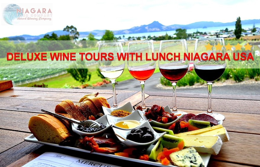 Show item 1 of 4. Deluxe Wine Tours With Lunch Niagara USA