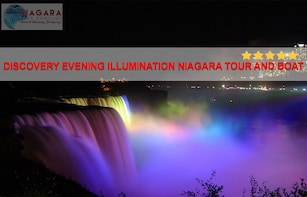 Discovery Evening Illumination Niagara Tour and Boat