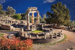 """Delphi """"The Navel Of The World"""" Private Day Trip from Athens"""