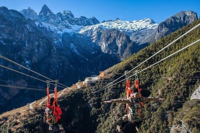 1 Day Shangri-La Great Canyon Trip