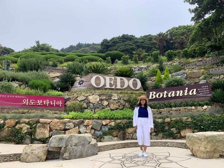 Show item 4 of 5. OEDO Island visitor