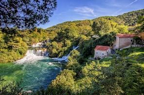 Krka Waterfalls National Park & Trogir