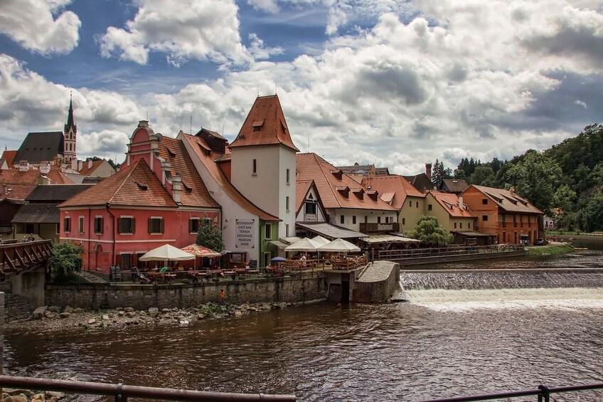 Show item 1 of 10. Cesky Krumlov Day Trip from Prague