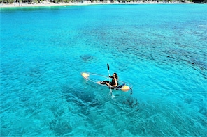 Transparent Kayaking on Sosua Bay
