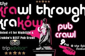 Krawl through krakow Pub Crawl: Explore Krakow's Epic Night-life